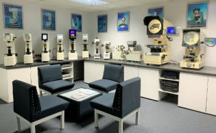 Midland Metrology Showroom and Demonstartion Area